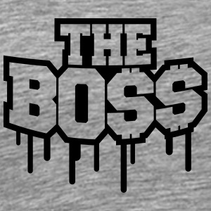 The Boss Rich Money Dollar Graffiti T-Shirts - Men's Premium T-Shirt