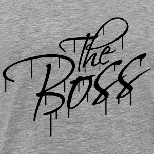 The Boss Graffiti T-shirts - Premium-T-shirt herr
