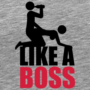 Like A Boss Drunken Sex And Beer Party Tee shirts - T-shirt Premium Homme