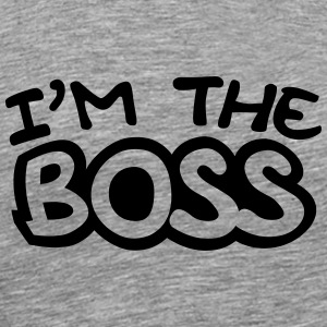 I'm The Boss Comic Style T-Shirts - Men's Premium T-Shirt