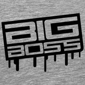 Big Boss Stamp T-skjorter - Premium T-skjorte for menn