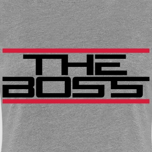 The Boss Logo T-shirts - Premium-T-shirt dam