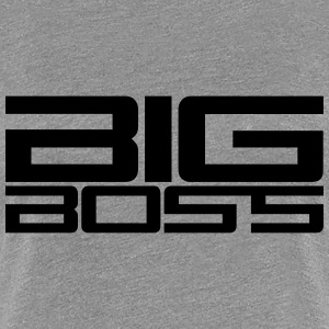 Big Boss T-skjorter - Premium T-skjorte for kvinner