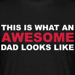 Awesome Dad T-shirts - T-shirt herr