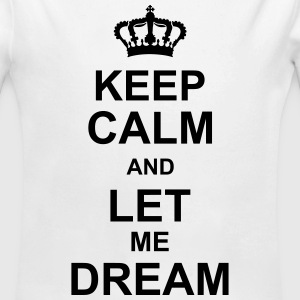 keep_calm_and_let_me_dream_g1 Pullover & Hoodies - Baby Bio-Langarm-Body