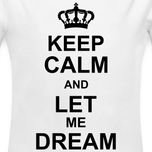 keep_calm_and_let_me_dream_g1 Sweaters - Baby bio-rompertje met lange mouwen