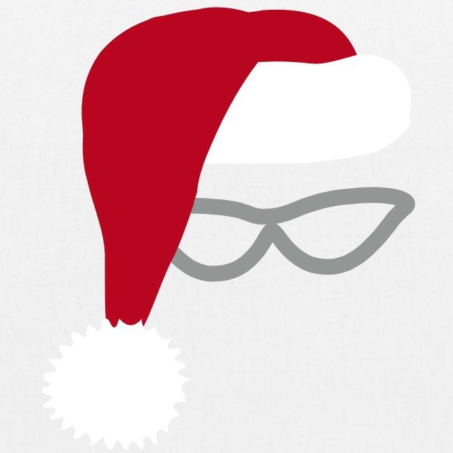 Chistmas Santa tote bag