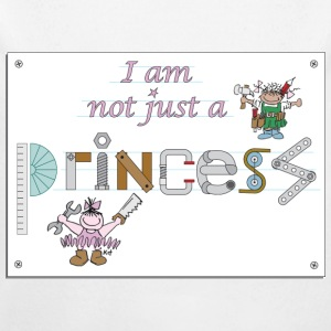 I am not just a princess Hoodies - Baby One-piece