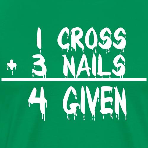 1 Cross + 3 Nails = 4 Given