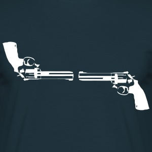 Revolver vs. Revolver T-Shirts - Men's T-Shirt