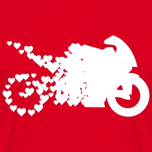 Lovebike T-shirts - Mannen T-shirt