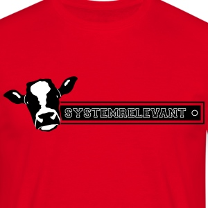 vache systemrelevant Tee shirts - T-shirt Homme
