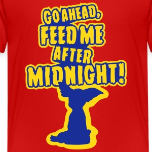 Feed me after midnight Shirts - Kids' Premium T-Shirt