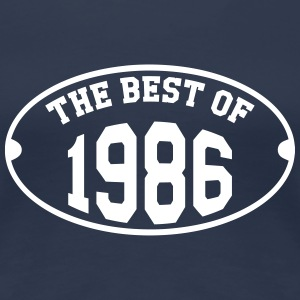 The Best of 1986 T-Shirts - Frauen Premium T-Shirt