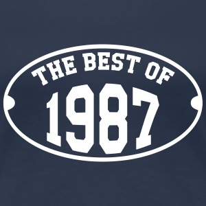 The Best of 1987 T-shirts - Dame premium T-shirt