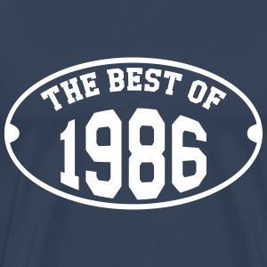 The Best of 1986 T-skjorter - Premium T-skjorte for menn
