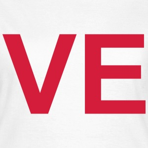VE (LOVE) Couples T-Shirt T-Shirts - Women's T-Shirt