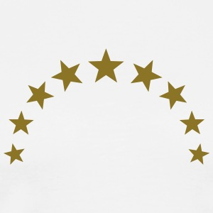 Star wreath, gold, team, winner, sport, crown T-Shirts - Men's Premium T-Shirt