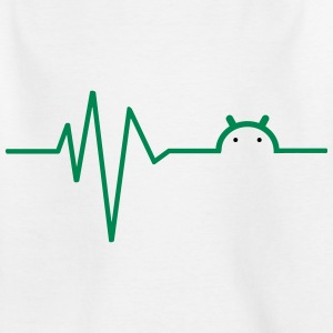 Droid heartbeat T-Shirts - Teenager T-Shirt