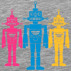 Cool Robots Team T-shirts - Herre premium T-shirt