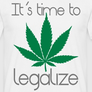 det er tid til at legalisere T-shirts - Herre-T-shirt