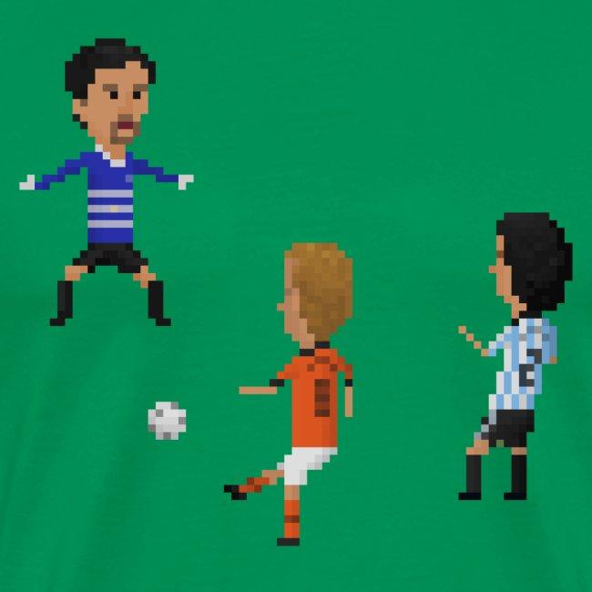 Men T-Shirt - Netherlands vs Argentina 1998
