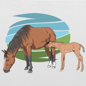 Mare and Foal Bags & backpacks - Tote Bag