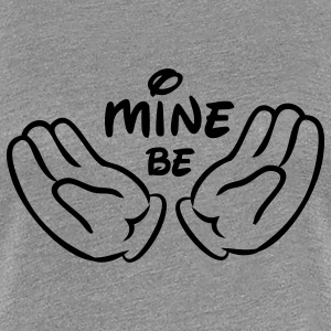Comic Hands Be mine T-Shirts - Frauen Premium T-Shirt