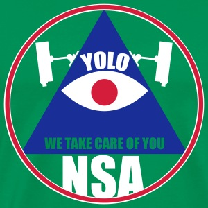 NSA - We take care of you T-Shirts - Männer Premium T-Shirt