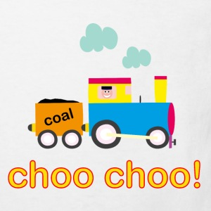 Choo Choo Train Kid's Organic T-shirt - Kids' Organic T-shirt