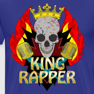 King Rapper T-shirts - Mannen Premium T-shirt