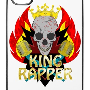 King Rapper Mobil- & tablet-covers - iPhone 4/4s Hard Case