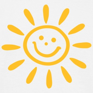 Smiley Sun, Summer, Spring, gift, holiday, beach,  T-Shirts - Men's T-Shirt