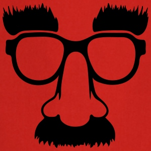 Groucho mask - nerd glasses Delantales - Delantal de cocina