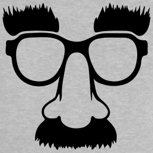Groucho mask - nerd glasses Camisetas - Camiseta bebé