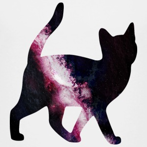 space cat utrymme katt T-shirts - Premium-T-shirt barn