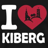 Motiv ~ I love Kiberg Männer Shirt schwarz