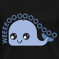 Design ~ Whale T-shirt (Men's shirt)