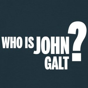 Who is John Galt? T-Shirt - Männer T-Shirt