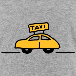 Taxi seitlich - V2 T-Shirts - Teenager Premium T-Shirt