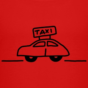 Taxi seitlich T-Shirts - Teenager Premium T-Shirt
