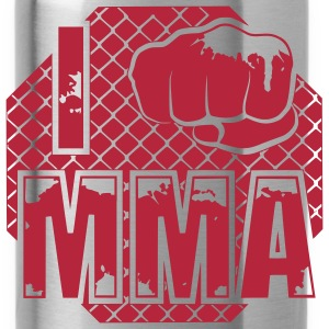 I fight MMA Bottles & Mugs - Water Bottle