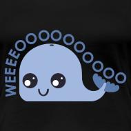 Design ~ Whale T-shirt (Women's shirt)