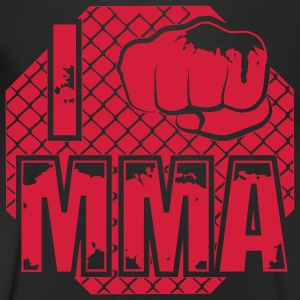 I fight MMA T-Shirts - Men's V-Neck T-Shirt