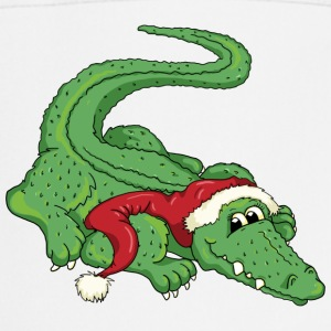 The crocodile and the Santa Claus Forklæder - Forklæde