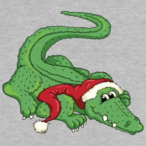 The crocodile and the Santa Claus T-shirts - Baby-T-shirt