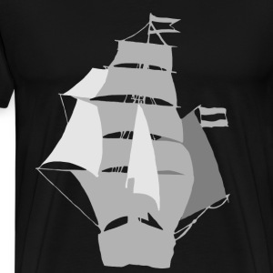Flying Dutchman  - Männer Premium T-Shirt