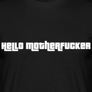 Hello Motherfucker T-skjorter - T-skjorte for menn