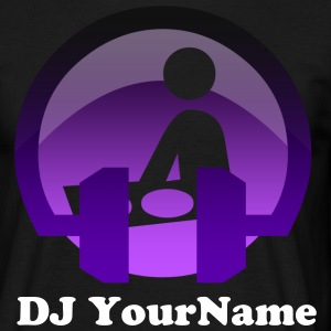 DJ Your Name - Men's T-Shirt