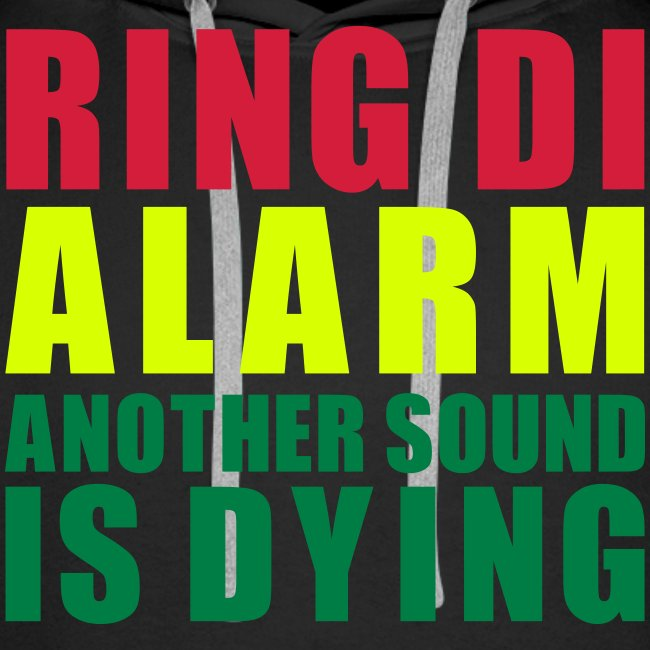 Sweat Capuche Men Ring Di Alarm